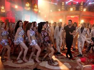 Song shoot for film Welcome Back