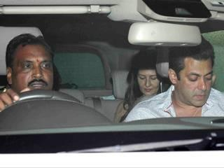 salman khan and sangeeta bijlani raeched together to watch special screening of Bahubali