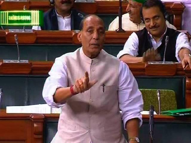 Will give befitting reply if Pak violates ceasefire: Rajnath