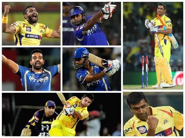 Team India_IPL_MS Dhoni_Ajinkya Rahane_Suresh Raina_Chennai Super Kings_Rajasthan Royals_