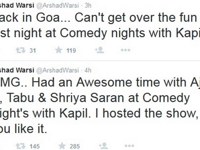 Arshad Warsi confirms hosting 'Comedy Nights With Kapil'