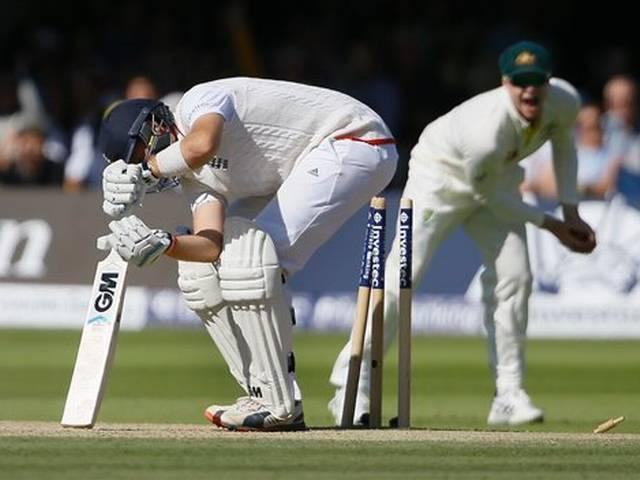 ashes: 2nd test