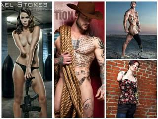 These sexy war veterans are inspiring, their pictures awe-inspiring