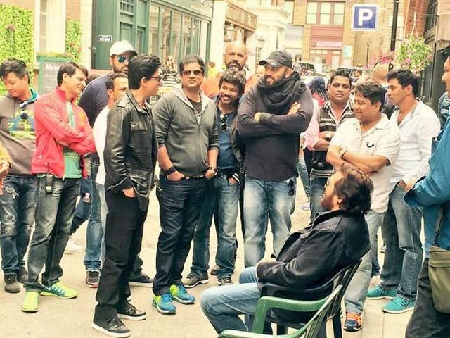 Shah Rukh Khan does action in 'Dilwale'