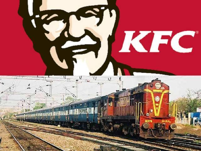 KFC partners IRCTC, to serve meals on trains