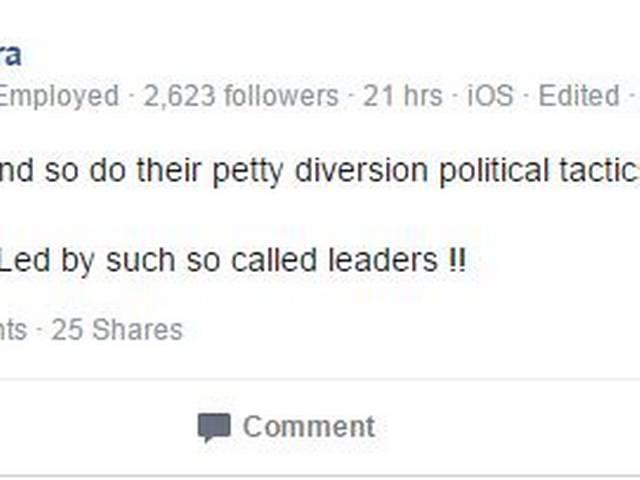 Robert Vadra takes to Facebook to slam Modi govt