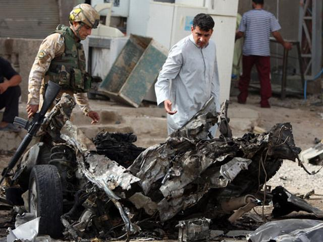 19 persons killed in car bomb blasts in Baghdad