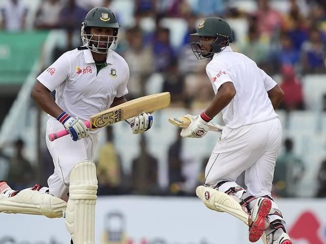 bangladesh vs south africa 1st test 2nd day play