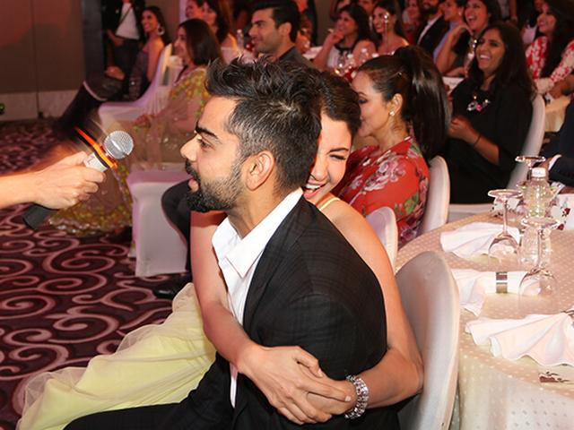 Anushka Sharma and Virat Kohli's first red carpet moment