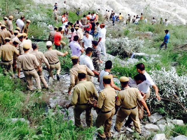 Himachal Pradesh: Seven killed, 26 missing as bus falls into Parvati river