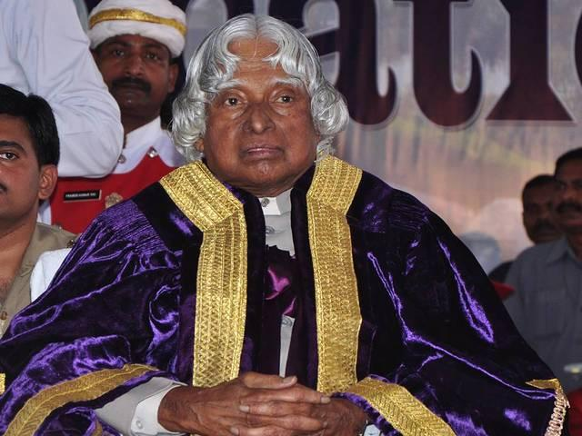 apj abdul kalam left without completing his dream book