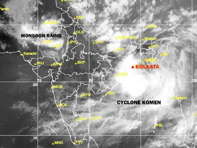Cyclone Komen crosses Bangladesh coast