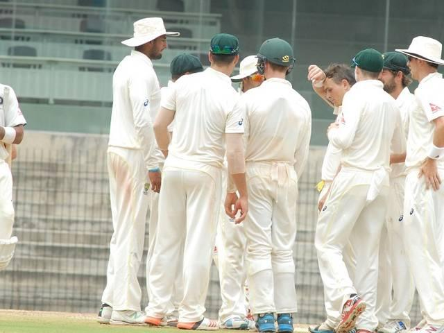 aus a beat india by 10 wicket
