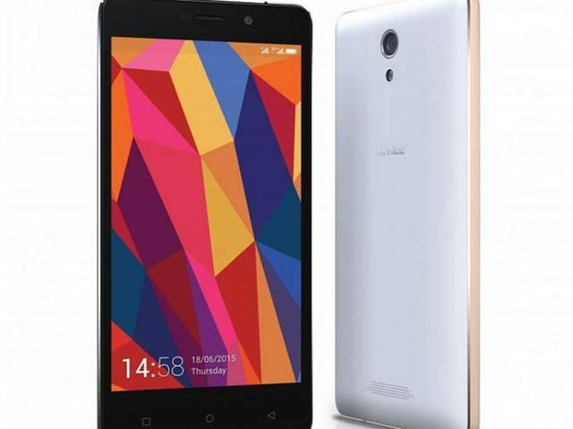GIONEE LAUCHED 500mAH SMARTPHONE LAUNCH