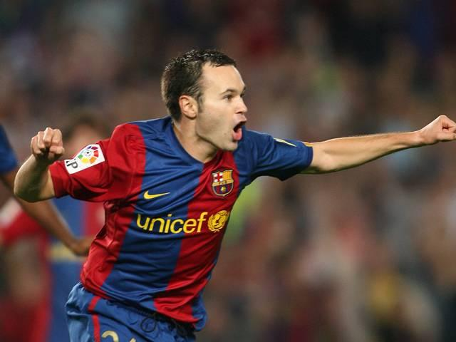 Andres Iniesta named Barcelona captain