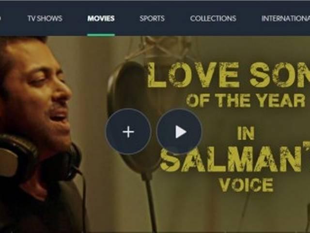 """Salman singing """"Main hoon Tera Hero' in the teaser video of 'Hero'"""