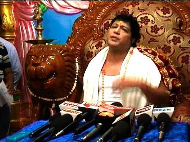 Controversial self-styled 'godman' Sarathi Baba was today arrested
