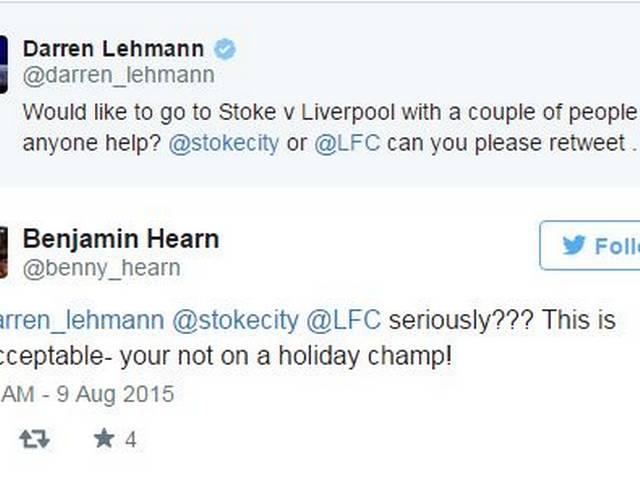 Darren Lehmann gets trolled for looking for EPL tickets after Ashes loss
