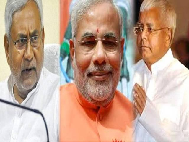 bihar election DNA fight