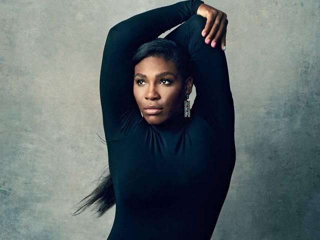 Serena Williams Does Splits in 'New York Magazine' Fashion Issue