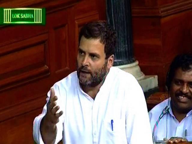 Sushma Swaraj couldn't even look into my eyes: Rahul Gandhi