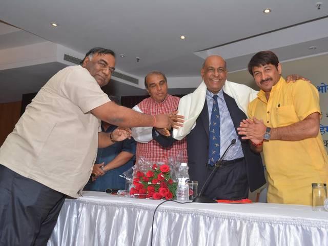 Bhojpuri Samaj Delhi_welcome_mauritius_mauritius high commissioner
