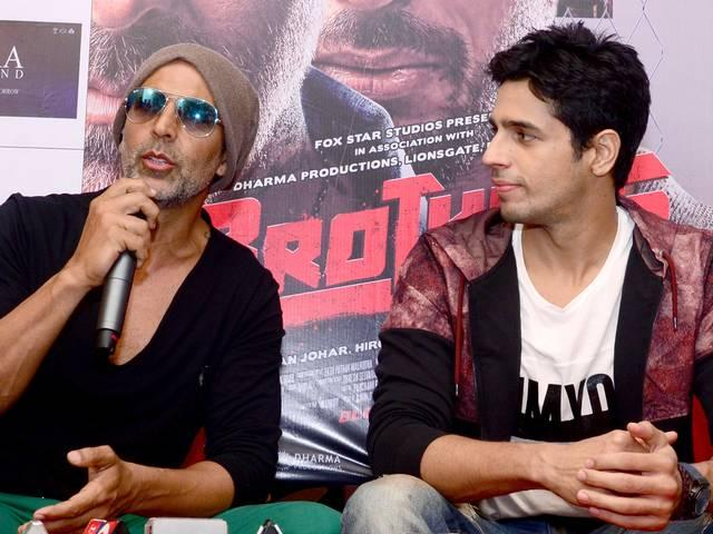 I was nervous to work with Akshay Kumar: Sidharth Malhotra