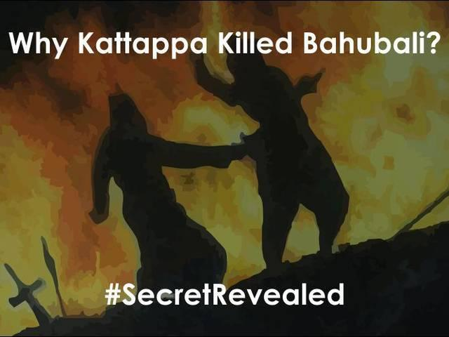script leak: revealed, why katappa killed bahubali