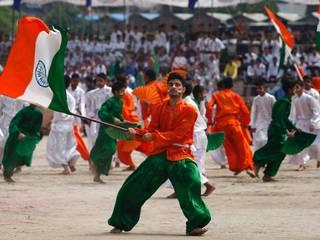 independence day ecelebration in kashmir