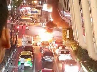 Bangkok bomb: Deadly blast rocks Thailand capital