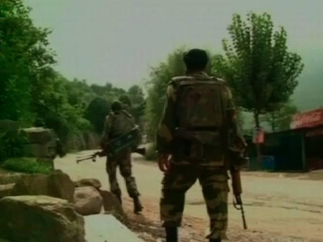 Militant attack on Police Party in Sopore