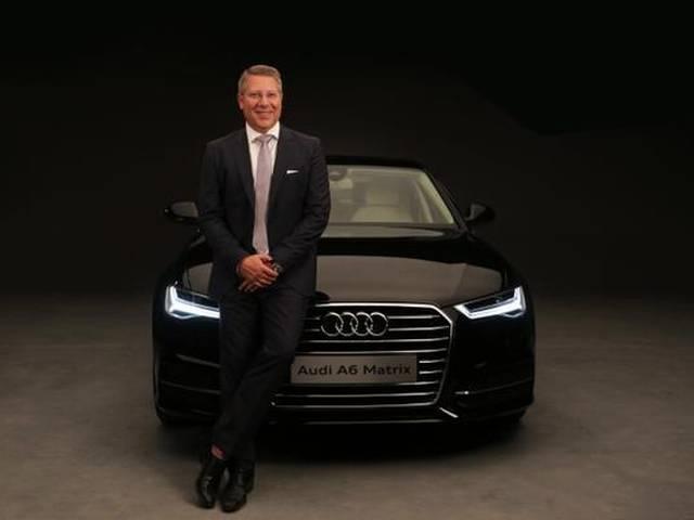 Audi launches A6 Matrix sedan priced at Rs 49.5 lakh