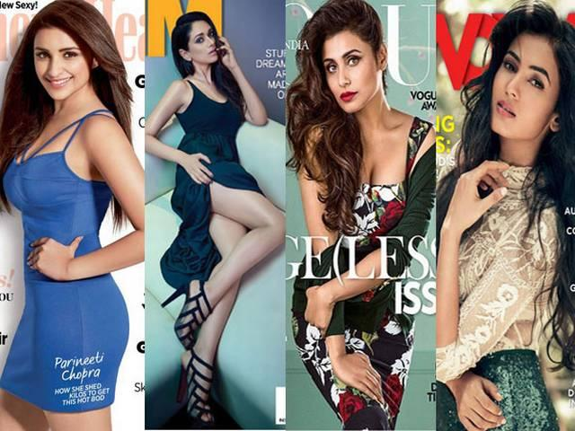 Bollywood Hot Babes of August Magazine Covers