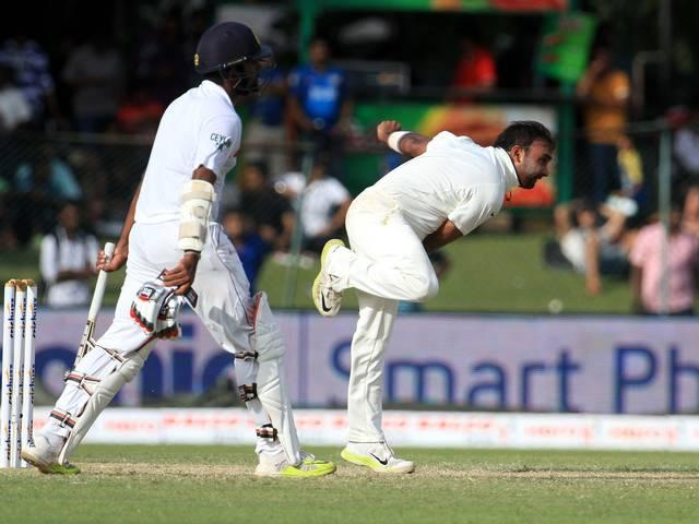 India just ahead after hard-fought day
