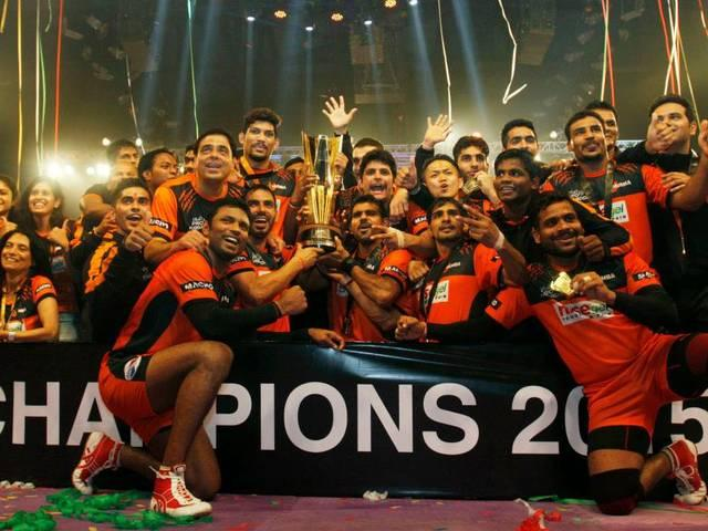 U Mumba edge out Bengaluru Bulls to lift Pro Kabaddi title