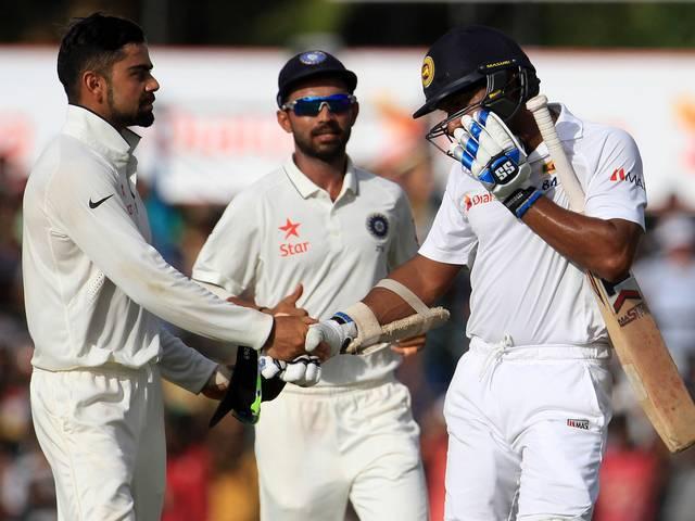 Pic of Team India skipper Virat Kohli message to Kumar Sangakkara