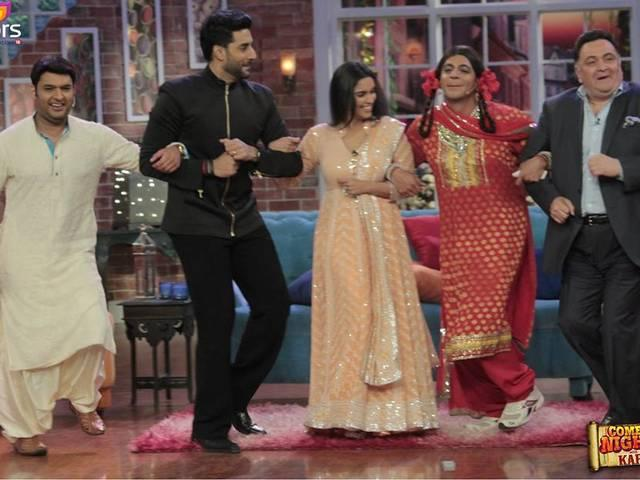 all is well team in comedy nights