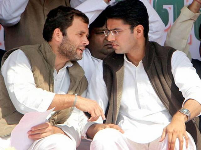 Rahul should take charge as Cong president soon: Sachin Pilot