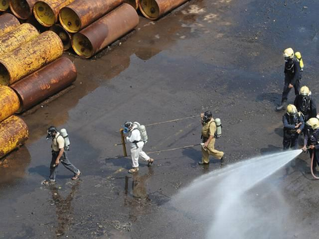 Chlorine Gas Leaks From Bhopal Water Filtration Plant, People Complain Of Severe Eye Burn