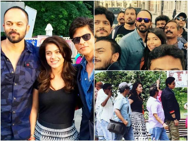 SRK wraps 'Dilwale' shooting in Iceland