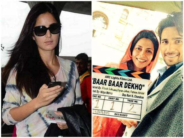 Sidhartha Malhotra begins shooting for BaarBaarDekho