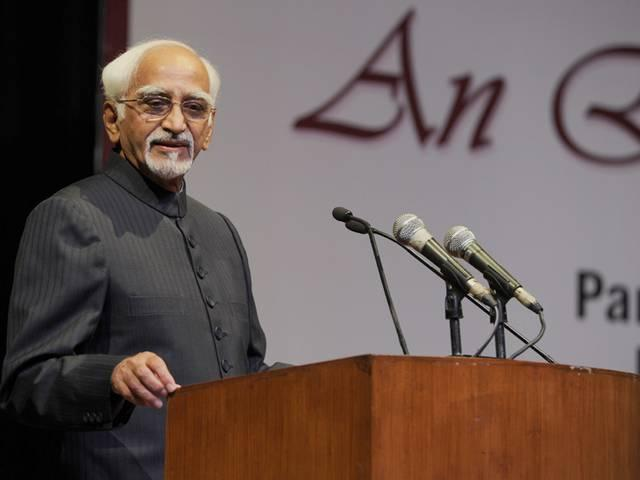 Ansari for affirmative action on issues confronting Muslims