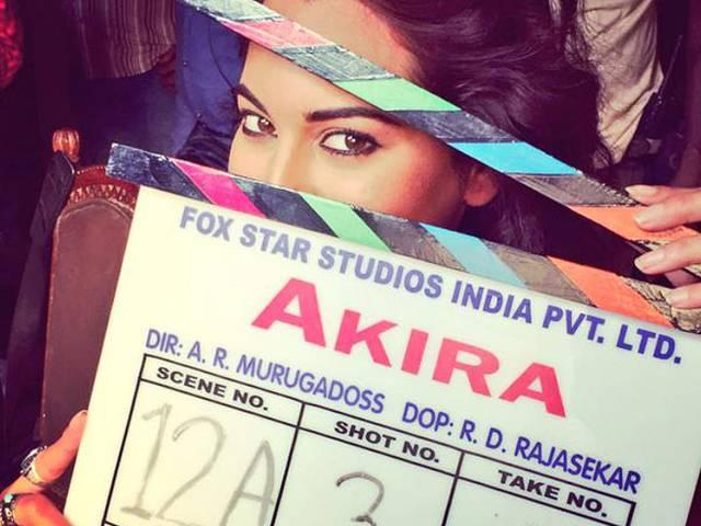How did Sonakshi Sinha 'break her own record'?
