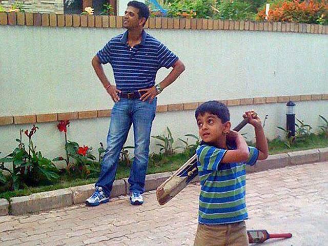 Rahul Dravid's son Samit shines again, scores 93