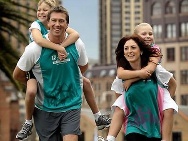 Glenn McGrath and wife Sara welcome baby girl
