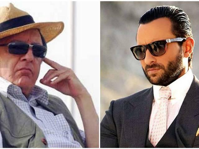 saif ali khan feels tough to make a movie on his father