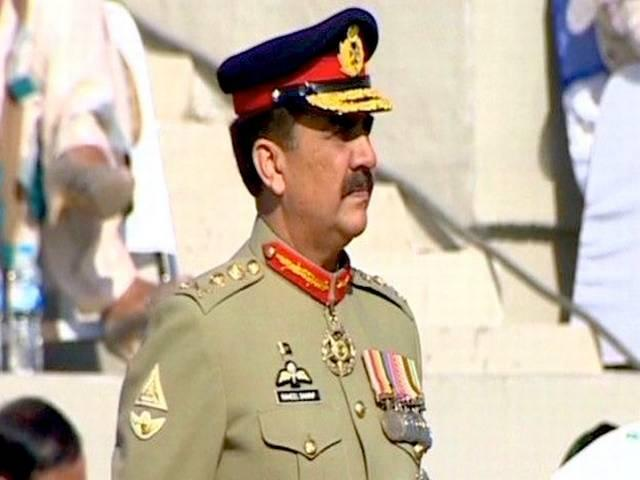 Time to resolve Kashmir issue: General Raheel Sharif