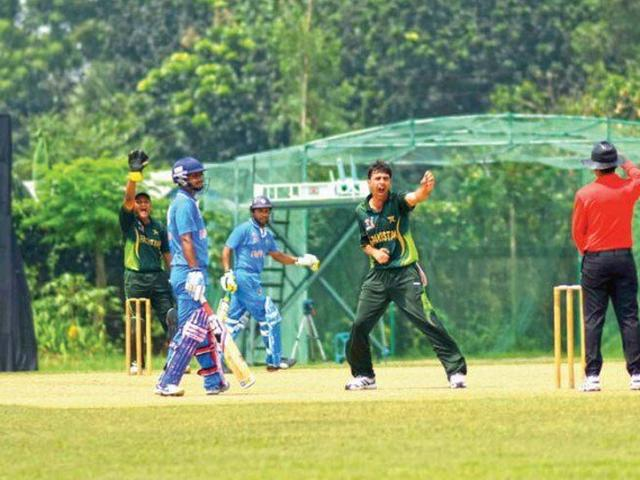 India lose to Pakistan in handicapped cricket