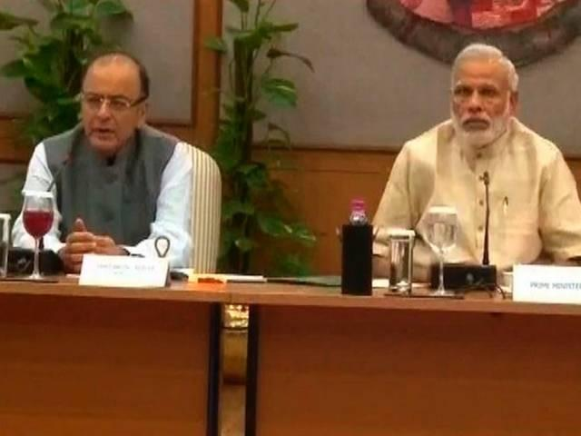 MODI HOLD MEETING WITH BUSINESS MAN