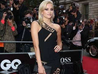 celebs in braless dress at GQ Men of the Year awards 2015